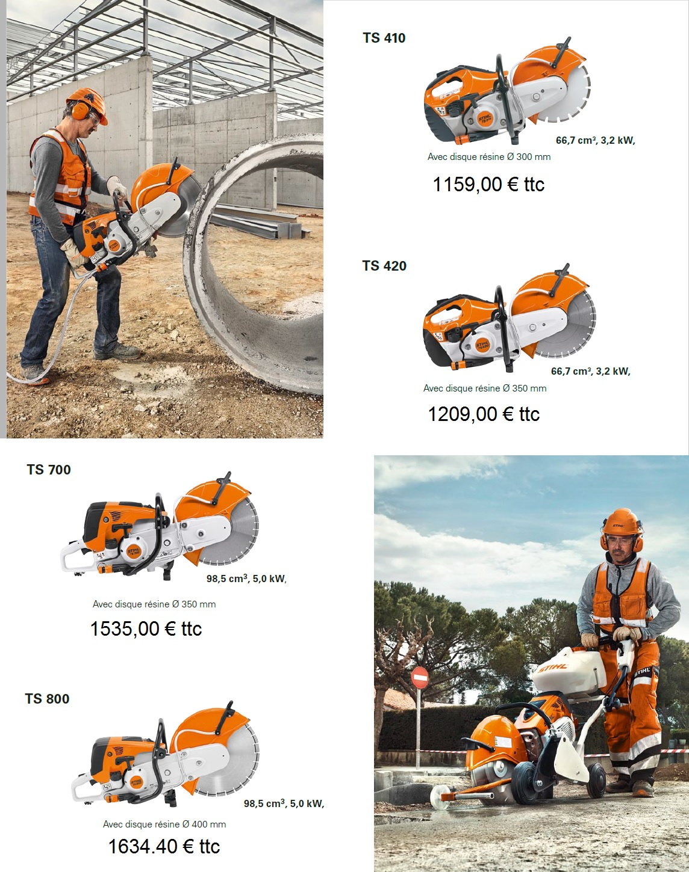 Découpeuse Stihl - www.bullentini.motoculture.com 01